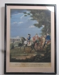 Prussia, Frederick the Great coloured mezzotint,