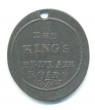 Chelsea, The King's Private Roads oval bronze pass,