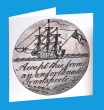 Convict Ship, Love Token Greeting Card